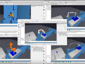 simulating cobots in AUTOMAPPPS robot programming software